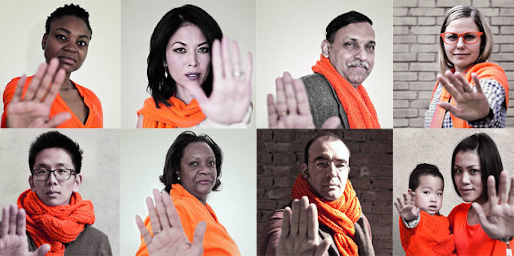 On International Day for the Elimination of Violence against Women, UN has launched 'Orange your Neighborhood' campaign for 16 days. Photo: UN Women