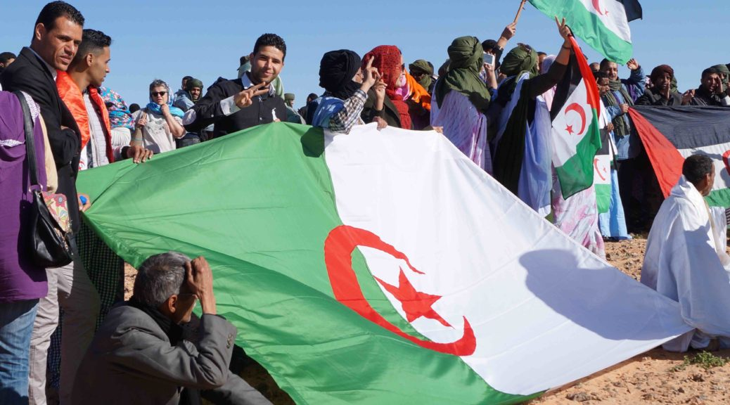 40th anniversary of the proclamation of the Sahrawi Arab Democratic Republic on February 26, 2016