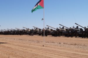 Armored brigade of Sahrawi People's Liberation Army
