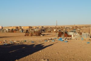 Outskirts of the Smara refugee camp