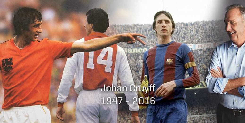Johan Cruyff (Photo source: worldofjohancruyff.com)