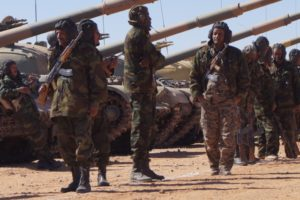 Soldiers of the Sahrawi People's Liberation Army
